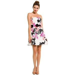 Lilly Pulitzer Amberly Dress white stroke midnight